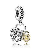 diy sieraden 925 zilveren hart vorm hanger