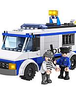 Cogo bâtiment de police série lego blocs police voiture-194 pcs