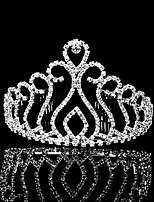 Vrouwen Bergkristal Helm-Bruiloft / Speciale gelegenheden Tiara's 1 Stuk