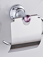 Porte Papier Toilette / Chrome / Fixation Murale /20*10*20 /Alliage de Zinc /Contemporain /20 10 0.42