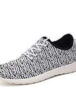 scarpe da donna di Tulle primavera / autunno scarpe da ginnastica di moda casual comfort tallone piano altri nero / blu / rosso / grigio /