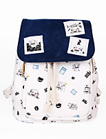 Cartoon Kantai Collection Canvas Backpack