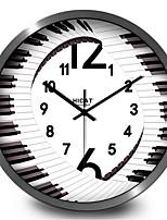 Creative Piano Living Room Must Mute Clock