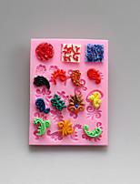 European style decorative pattern decorative Chocolate Silicone Molds,Cake Molds,Soap Molds,Decoration Tools Bakeware