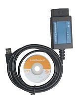 câble du scanner ligne obd2 ligne de test de diagnostic de défaut est adapté pour le fiat