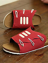 Zapatos de Hombre-Sandalias-Exterior / Deporte-Semicuero-Negro / Azul / Rojo / Blanco / Gris