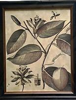 Toiles Tendues Nature morte Classique / Style européen,Un Panneau Toile Verticale Imprimer Art Décoration murale For Décoration