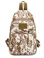 55 L Shoulder Bag Camping & Hiking Outdoor Multifunctional Black / Brown / Camouflage Nylon Other