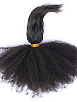 6A Brazilian Curly Virgin Hair Weave Bundles Afro Kinky Curly Brazilian Virgin Hair 3Pc Brazilian Hair Extensions