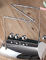 z-shaped plating Newton's Cradle metal ball touch beads science Decoration