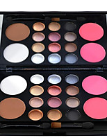 16 Eyeshadow Palette Dry Eyeshadow palette Powder Large Daily Makeup