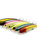 14cm 22.5g/Pcs Big Pencil Bait Plastic Hard Bait Lures Lure Long Shot Bionic Bait 7 Pcs/set