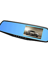 4.3''  Dual Camera Car DVR Rearview Mirror Dash Cam Full HD 1080P Auto Dvrs Video Camcorder