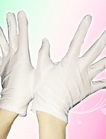 Girls / Boys Gloves,All Seasons Polyester White