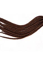 #27 Havanna / Gehäkelt Dread Locks Haarverlängerungen 14 18 inch Kanekalon 24 Strand 115-125 Gramm Haar Borten