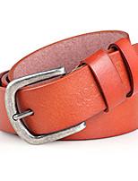 Men Faux Leather Waist Belt,Vintage / Party / Work / Casual Alloy / Leather P3D1P1K7