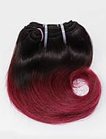 Brazilian Virgin Hair Body Wave 1 Bundles 1B/99J Ombre Color Brazilian Body Wave Hair 100% Human Hair Weaves.