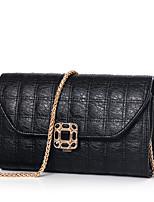 Women-Formal / Casual / Office & Career / Shopping-PU-Shoulder Bag-Gold / Black
