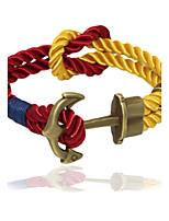 Punk Fashion Men's Bracelet Bronze Anchor Bracelet Alloy Bracelet Chain Bracelets / Wrap Bracelets Daily