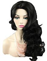Fashion Natural Color Body Wave Synthetic Wigs Hair Wig