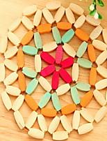 Bambou Rond Sets de table / Dessous-de-verres