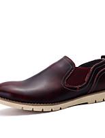 chaussures en cuir mariage / parti des hommes&richelieus soirée mariage / bureau&carrière / partie&soirée à pied talon plat