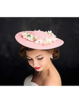 Women's Tulle / Flax Headpiece-Special Occasion Fascinators 1 Piece Clear Irregular 25