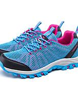Scarpe Donna-Sneakers alla moda-Tempo libero-Comoda-Piatto-Tulle-Blu / Viola