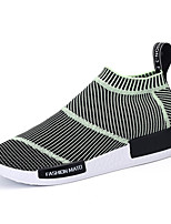 Men's Shoes Tulle Casual Loafers & Slip-Ons Casual Walking Flat Heel Others Black / Green