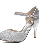 Women's Shoes Glitter Stiletto Heel Heels / Pointed Toe Heels Wedding / Party & Evening / Dress Silver / Gold