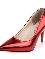 Women's Shoes Patent Leather Summer Heels Heels Casual Stiletto Heel Others Red / Silver
