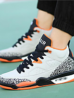 Men's Shoes PU Athletic Shoes Basketball Others Black / White / Orange