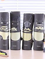 Korean Cute Totoro Pen Curly Grade Pu Students Stationery