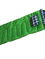 Sleeping Bag Rectangular Bag Single -15°-5° Hollow Cotton 2000g 180X75 Camping  Traveling IndoorDust Proof  Windproof