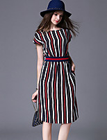 Maxlindy Women's Vintage Going out / Party/ Sophisticated A Line Dress