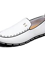 Men's Shoes Suede Outdoor Flats Outdoor Walking Flat Heel Slip-on Black / Blue / Yellow / White