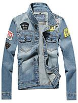 Autumn/new/man/men/long/denim dress/jacket/coat/jacket/fashion/trend  SLS-NZ-JK31807