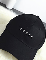 Women Cotton Baseball Cap,Casual All Seasons