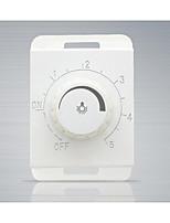 la instalación de los modelos 118 oculta botón de función de atenuación / elegante panel de interruptores de pared blanca
