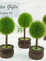 Gardening Place Card Holder Beter Gifts® Table Decoration (4pcs/Set) 4.5 x 4.5 x 9.5 cm/pcs