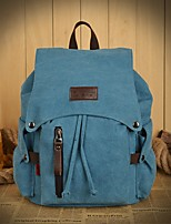 Unisex-Sports / Outdoor / Office & Career-Canvas-Backpack-Blue / Khaki