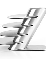 Stainless Steel Metal Coaster Cup Mug Pads Tableware Pad Placemat Cup Bowl Drinks Coasters 4Pcs/lot