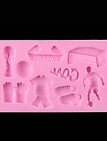 1 PCS Silicone Cake Decorate Soap Candle Sugar Craft Tools Chocolate Fondant Mold  Baking Mold