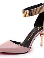 Women's Shoes Stiletto Heel Pointed Toe Heels Dress / Casual Black / Pink / Beige