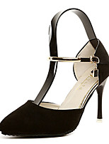Women's Heels Summer Heels PU Casual Stiletto Heel Others Black / Gray Others