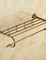 Calentador de Toallas / Cepillado / Montura en Pared /60*15*10 /Latón /Antiguo /60 15 1.335