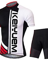 KEIYUEM®Others Summer Cycling Jersey Short Sleeves + Shorts Ropa Ciclismo Cycling Clothing Suits #76
