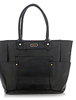 Women PU Formal / Sports / Shopping / Outdoor / Office & Career Tote Beige / Black / Camel
