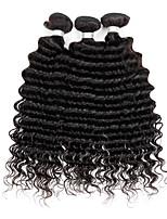 3 Stück Wogende Wellen Menschliches Haar Webarten Peruanisches Haar Menschliches Haar Webarten Wogende Wellen