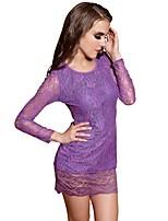 Vêtement de nuit FemmeNuisette & Culottes / Chemises & Blouses / Jarretière / Lingerie en Dentelle / Bustiers Correspondants / Robe de